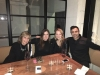 Leslie Marshall, her Mom, Hubby, and Niece Taylor at 'Redbird' in Downtown Los Angeles
